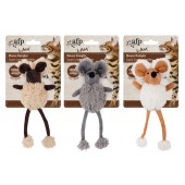 AFP Lambswool-Mouse Dangler