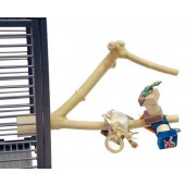 Back Zoo Nature Java Toy Perch - Small