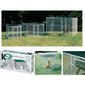 MIDWEST - Chain Link Kennel - 183x122x122cm (LxBxH)