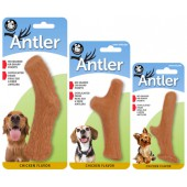 Pet Qwerks Nylon Chicken Antler - HERTENGEWEI in 3 maten