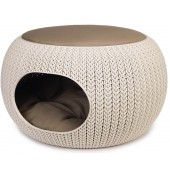 Curver - Cozy Pet Home - Beige - Ø 55 cm
