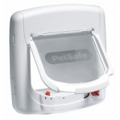 PETSAFE Staywell® Deluxe Magnetic Cat Flap - White