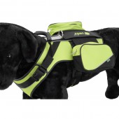 OPRUIMING - Sport-Harness Crazy Paws - LARGE - GREEN
