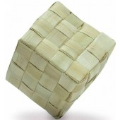 Back Zoo Nature Woven Cube Large - ca 6 cm