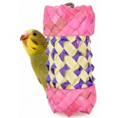 Back Zoo Nature Woven Foraging Cylinder - 12 x 7 cm