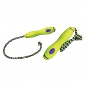 Kong Air Fetch Stick + Touw Geel - in 2 maten